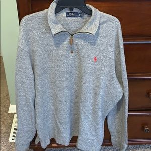 Ralph Lauren Men's half zip sweater - Size XL